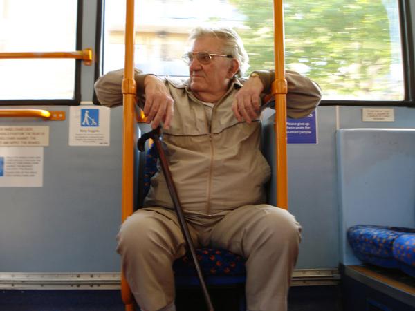 Bus-passenge