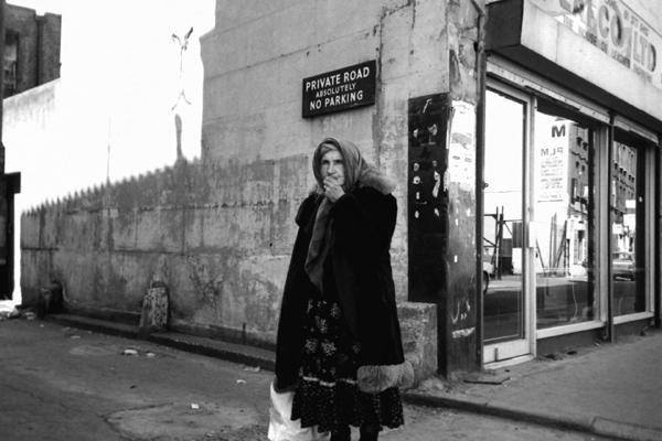 Cat lady of Spitalfields