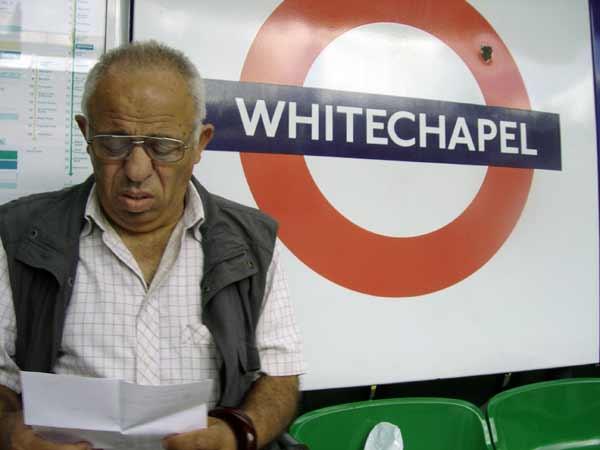 Whitechapel Station. London 2005.