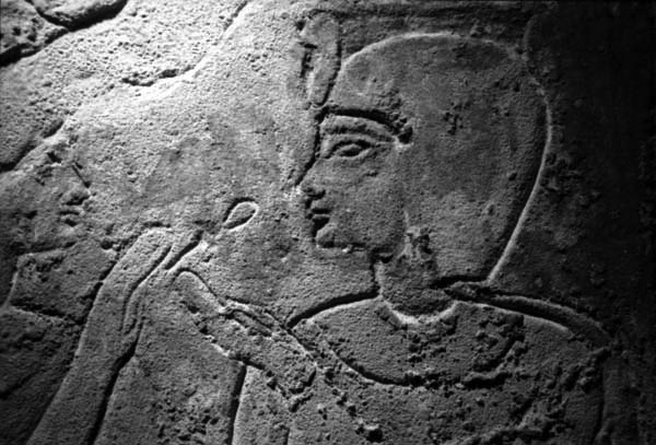 Hand and face from the British Museum Egyptology collection