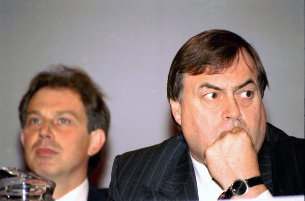 Tony Blair and John Prescott