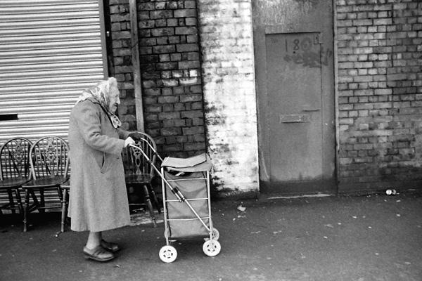 Trolley lady