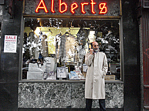 Alberts mens clothes shop, 2007