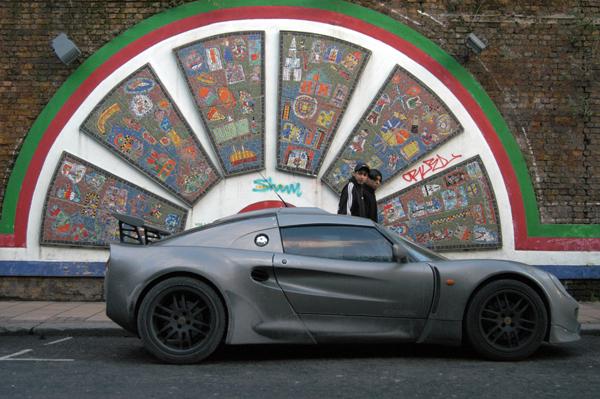 Car on Brick Lane