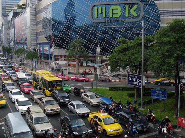 Traffic jam in Kuala Lumpur, 2008