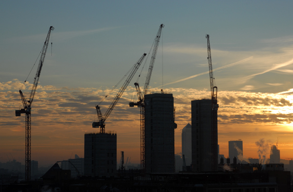 London Hospital construction