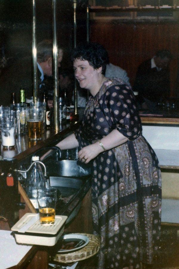 George pub, Liverpool 1979