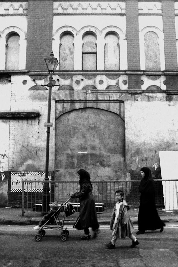 Walking down Fashion Street, 1993
