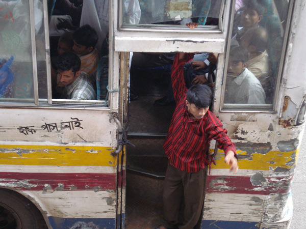 Passenger Bus in Dhaka