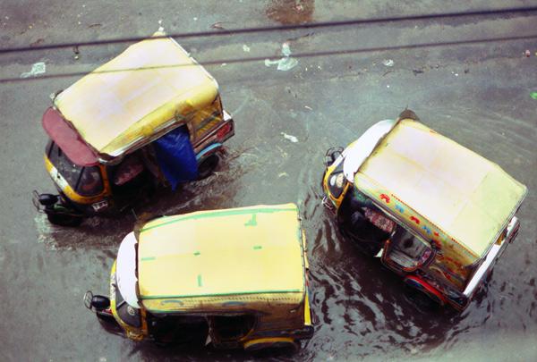 Baby Taxis, Dhaka Bangladesh