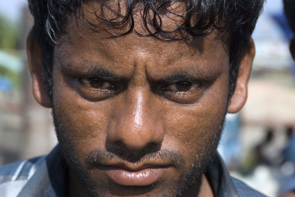 Fisherman in Chittagong, 2008