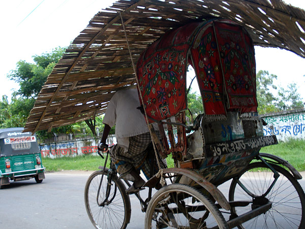Rickshaw in Chittagong