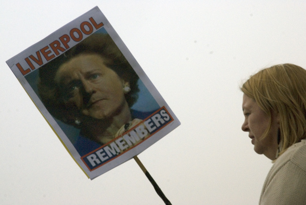 'Liverpool Remembers', TUC demonstration March 2011