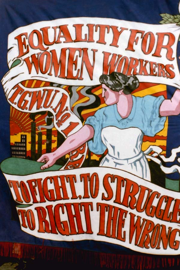 Trade Union banner