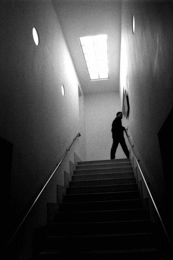 Whitechapel gallery staircase