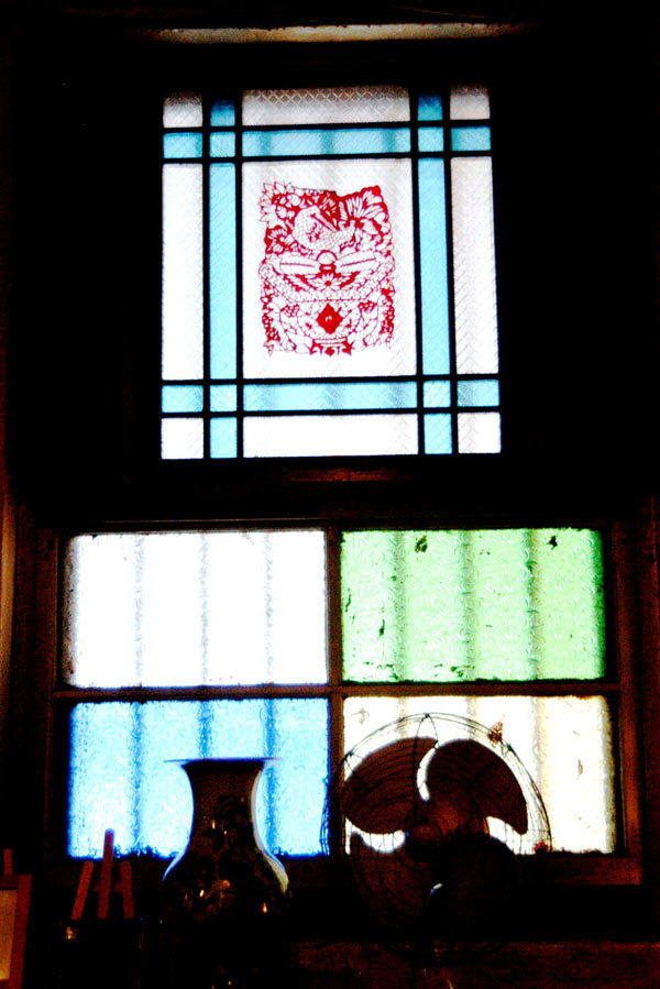 Window in the Old China Cafe, Kuala Lumpur 2004