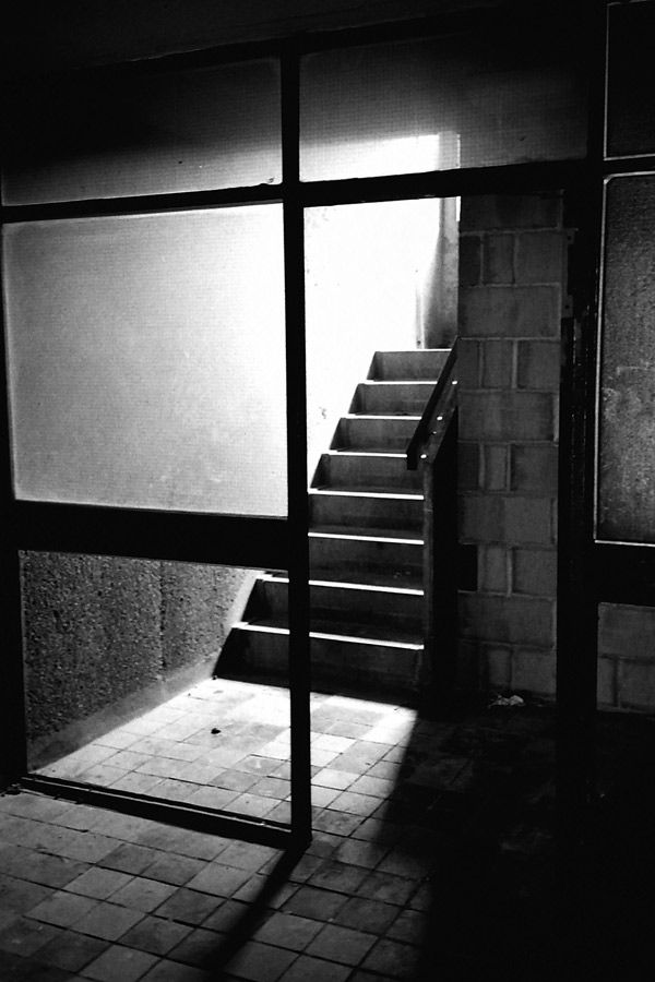 Stairs in Pauline House, 1986