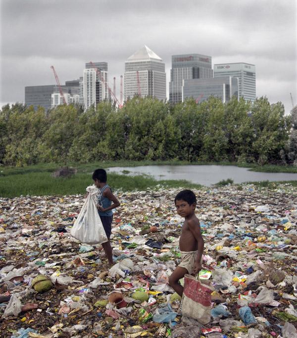 Landfill, Canary Wharf
