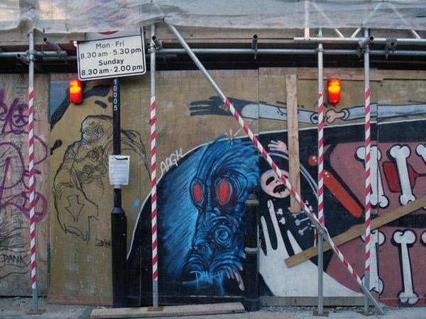 Street gallery, Woodseer Street 2009