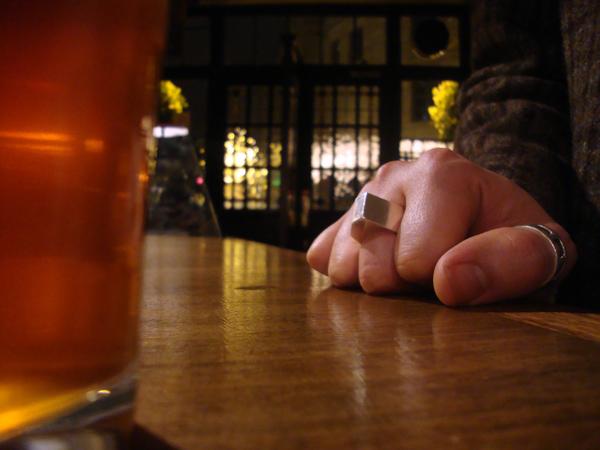 The Golden Heart pub, London 2008