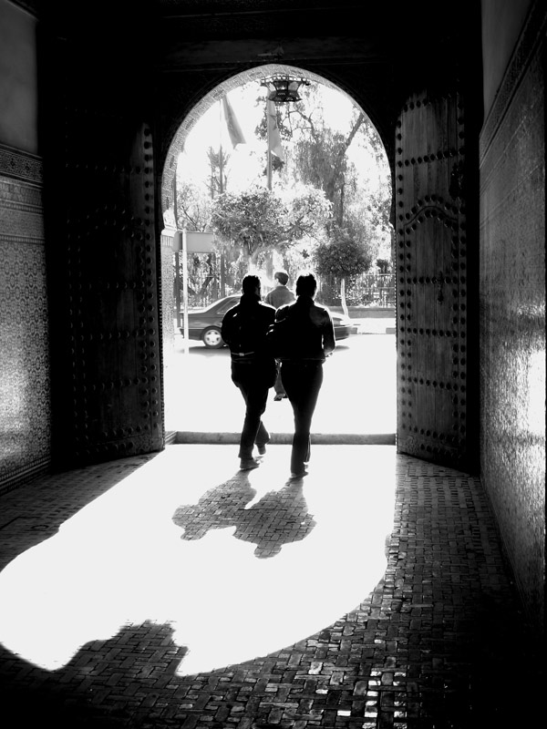 Archway in Marrakech, 2004