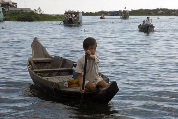 Tonle Sap, Cambodia 2009
