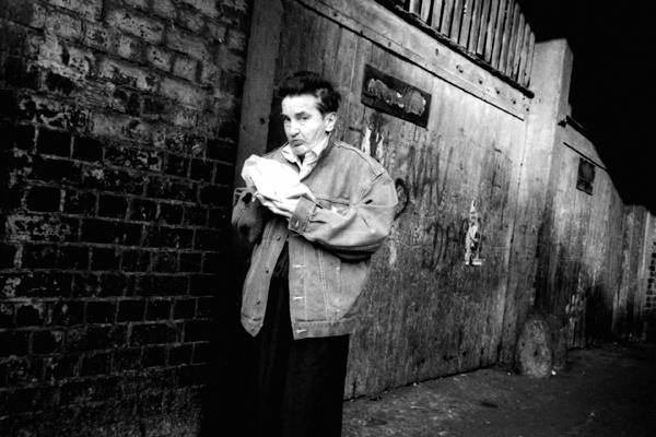 Under the bridge, Wheeler Street, London 1987