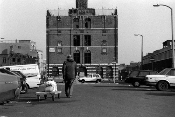 Durward Street, near Whitechapel Waste, Whitechapel, London 1987