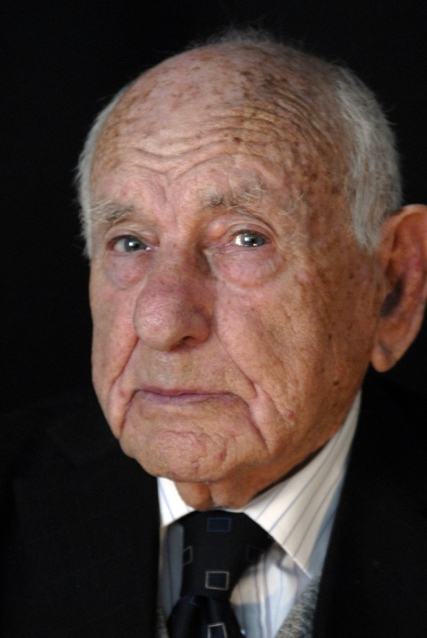 Portrait of Max Levitas, Whietechapel, London 2010
