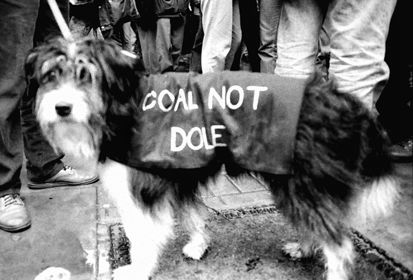 Anti Poll Tax demonstration. Lambeth, London 1991