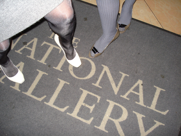 National Gallery Private View. January 2008