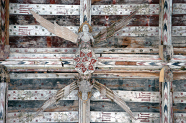Flying Angels in Churches