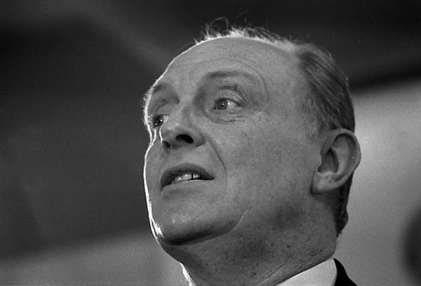 Niel Kinnock. London 1992