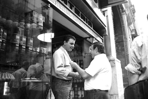 Conversation. Naples 1989