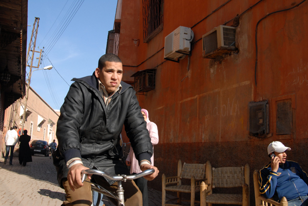Cyclist. Marrakesh, Morocco 2005