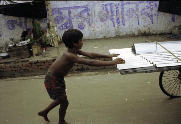 Child labourer. Dhaka, Bangladesh 1991