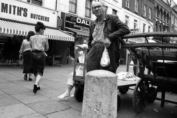 Whitechapel Market. London 1984