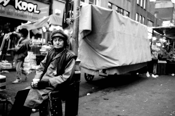 Petticoat Lane Market. London 1984
