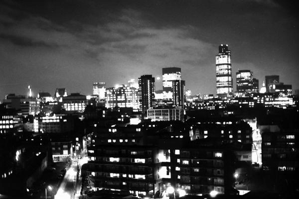 City view. London 1988