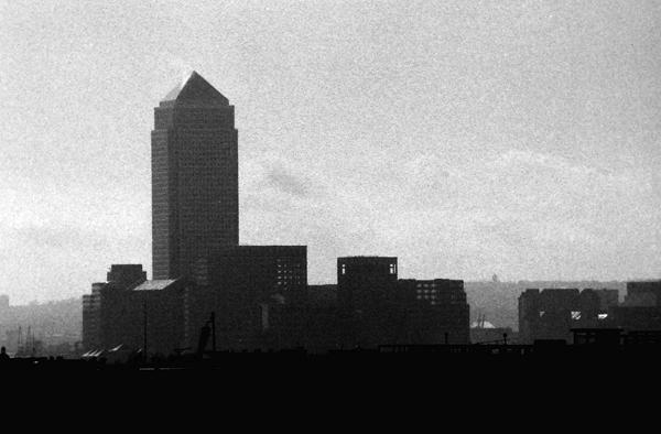 Canary wharf, London 1989