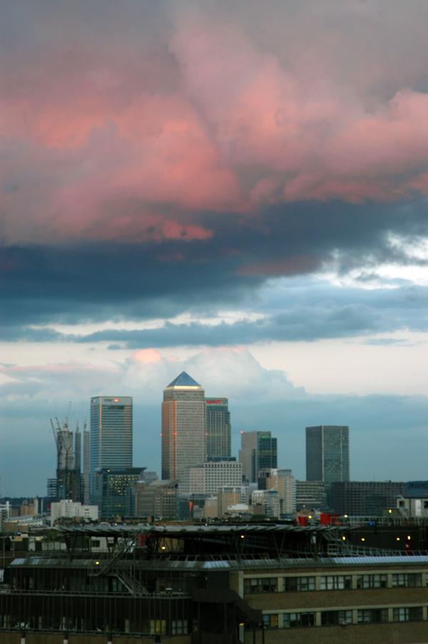 Canary Wharf. London 2010