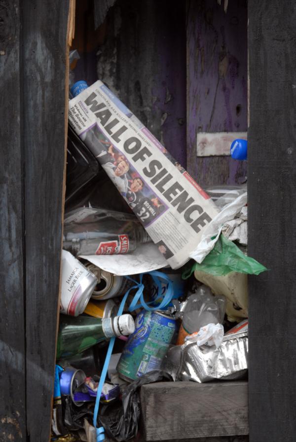Litter, Spitalfields 2005