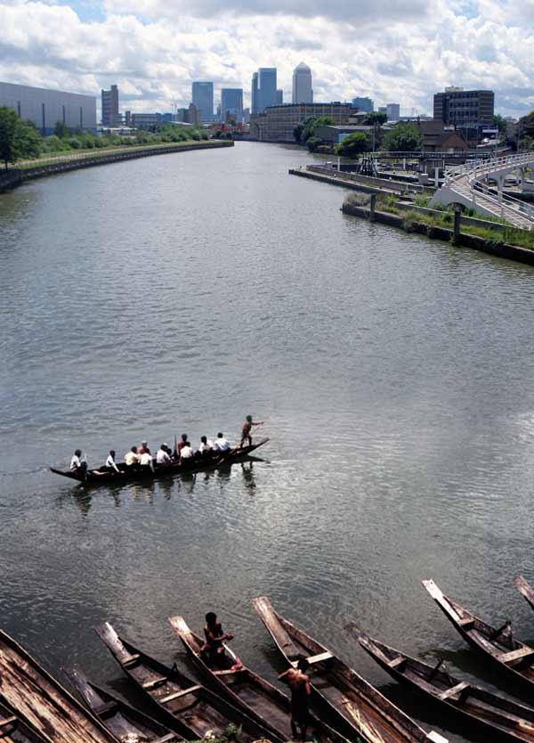 'Across the River'. Photomontage 2012