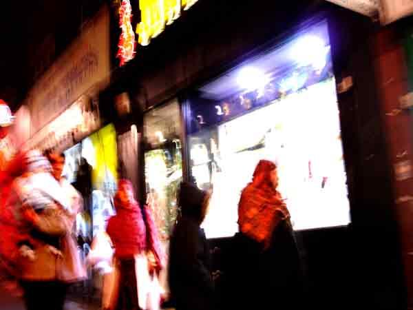 Whitechapel lights. London 2004