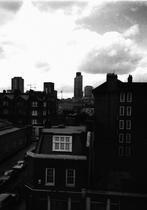 Tower 42 viewed from Whitechapel, 1989