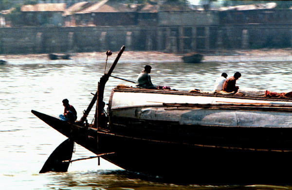 River Transport. Bangladesh 1997