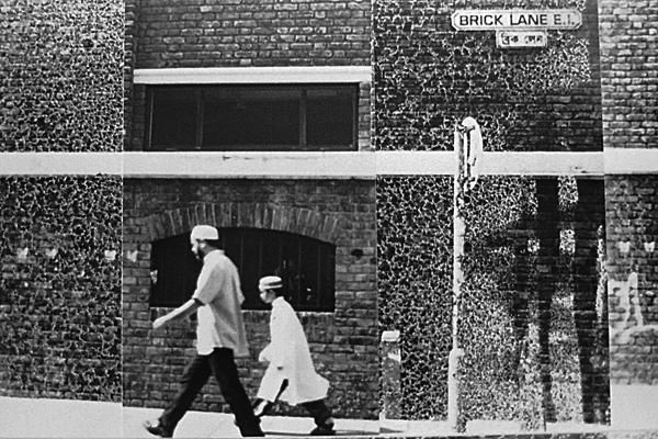 Brick Lane Collage (detail). London c.1999