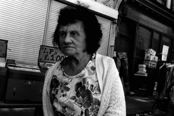 Portrait, Cheshire Street, London c.1984
