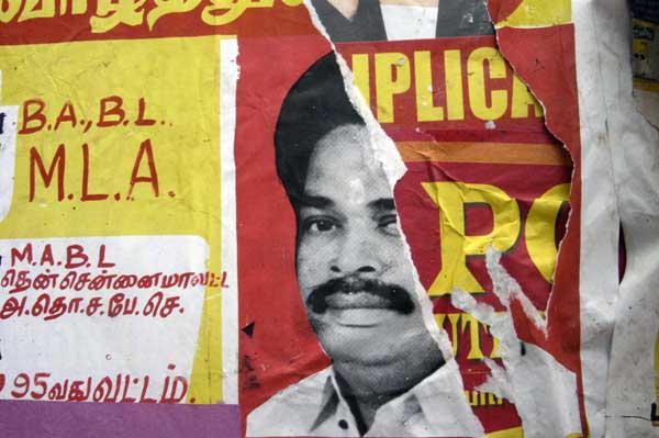 Posters in Chenai. India 2007