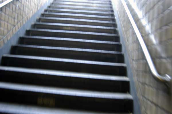 Stairway, New York 2005